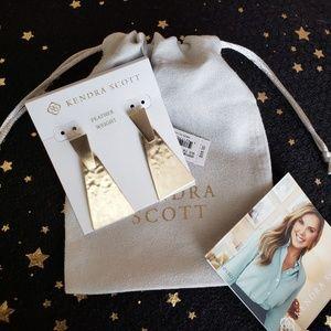 Kendra Scott Keerti Drop Earrings In Gold